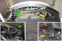 Installation d'un radiateur central sur la Porsche Pic05