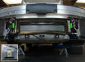 Installation d'un radiateur central sur la Porsche Pic06