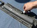 Installation d'un radiateur central sur la Porsche Pic08