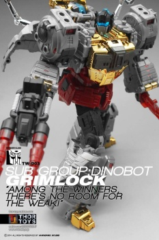 [Toyworld][Zeta Toys] Produit Tiers - Jouet TW-D aka Combiner Dinobots - Page 2 BJWc26kz