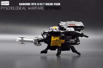 [BadCube] Produit Tiers - Jouet OTS-05 Claymore / OTS-06 Hypno / OTS-07 Kickbutt - aka Insecticons QUQXt9Vl