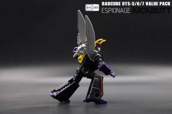 [BadCube] Produit Tiers - Jouet OTS-05 Claymore / OTS-06 Hypno / OTS-07 Kickbutt - aka Insecticons SzAfeUPI