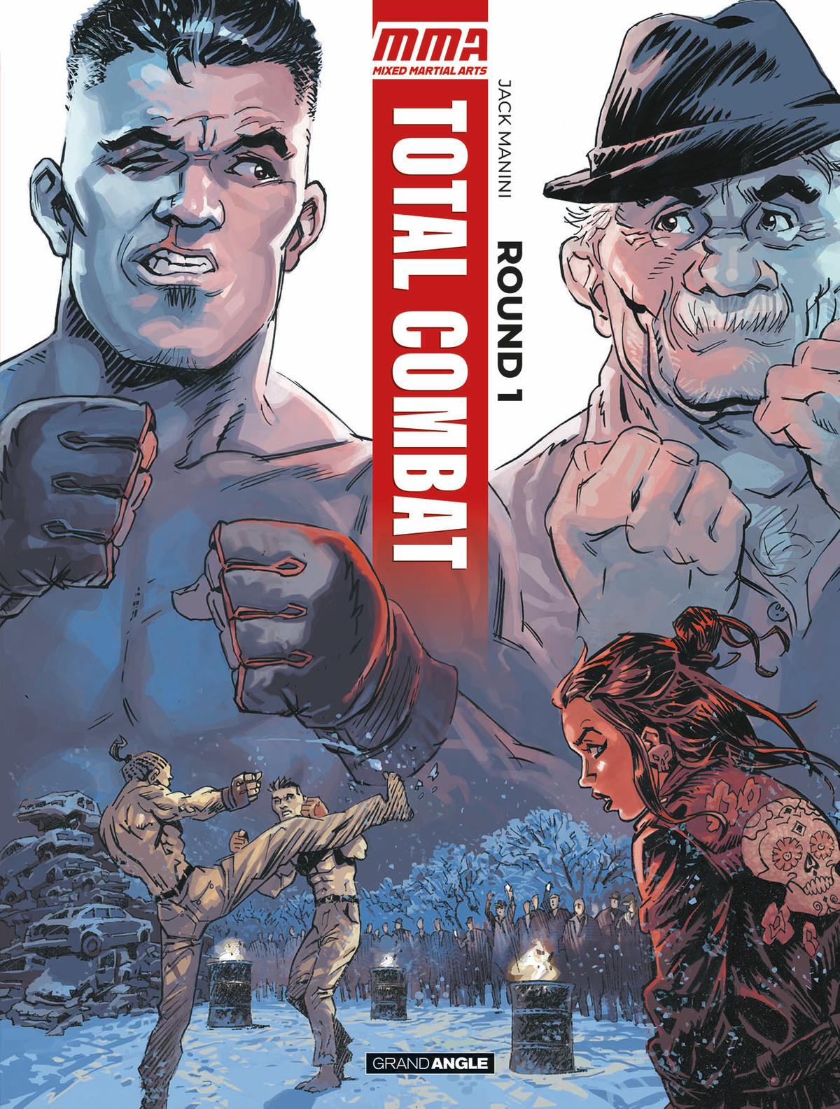 En librairie: Total combat, une BD sur le Free fight / MMA V8vkw