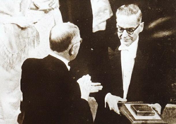 Retorika - inspiracija za život Andric-prima-Nobelovu-nagradu-1961