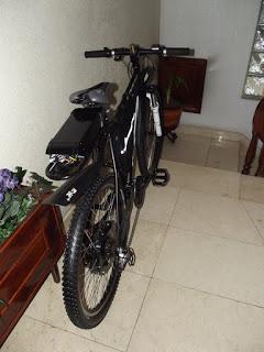 Presento los cambios que han dado lugar a la nueva bici que he montado sobre el 9C de 3,5 kW 10