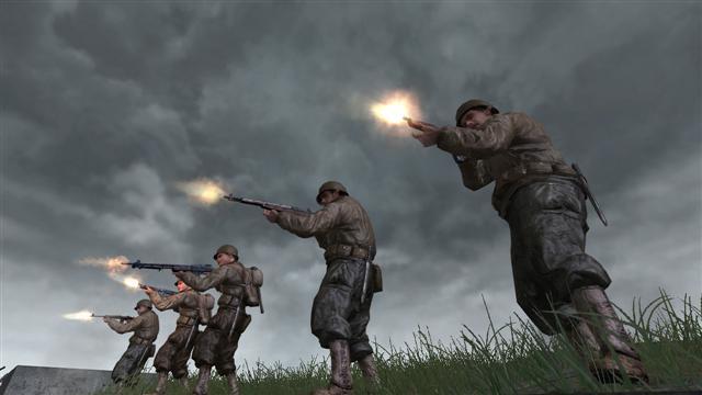 من أقوى وأروع وأجمـل العاب الحروب ☣ Call Of Duty 2 ☣ تدخـلـك أجـواء الحـرب العـالـمـيـه الـثـانـيـه 4