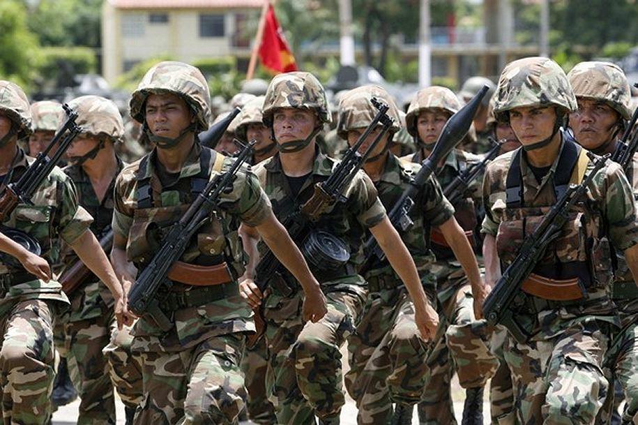 Armée du Nicaragua / Nicaraguan Armed Forces Soldier_military_combat_field_dress_uniforms_pattern_Nicaragua_Nicaraguan_army_008