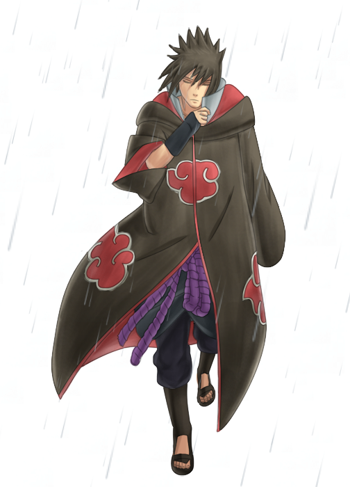 """Martex"" Genin exams 409___Sasuke_in_Akatsuki_Robe_by_KALiZU"