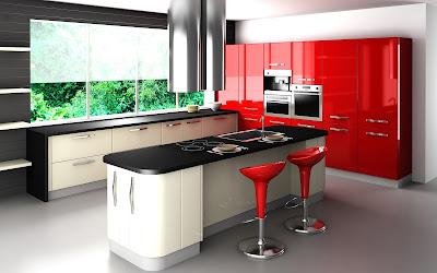 Tủ bếp đẹp Kitchen-cabinets-modern-design