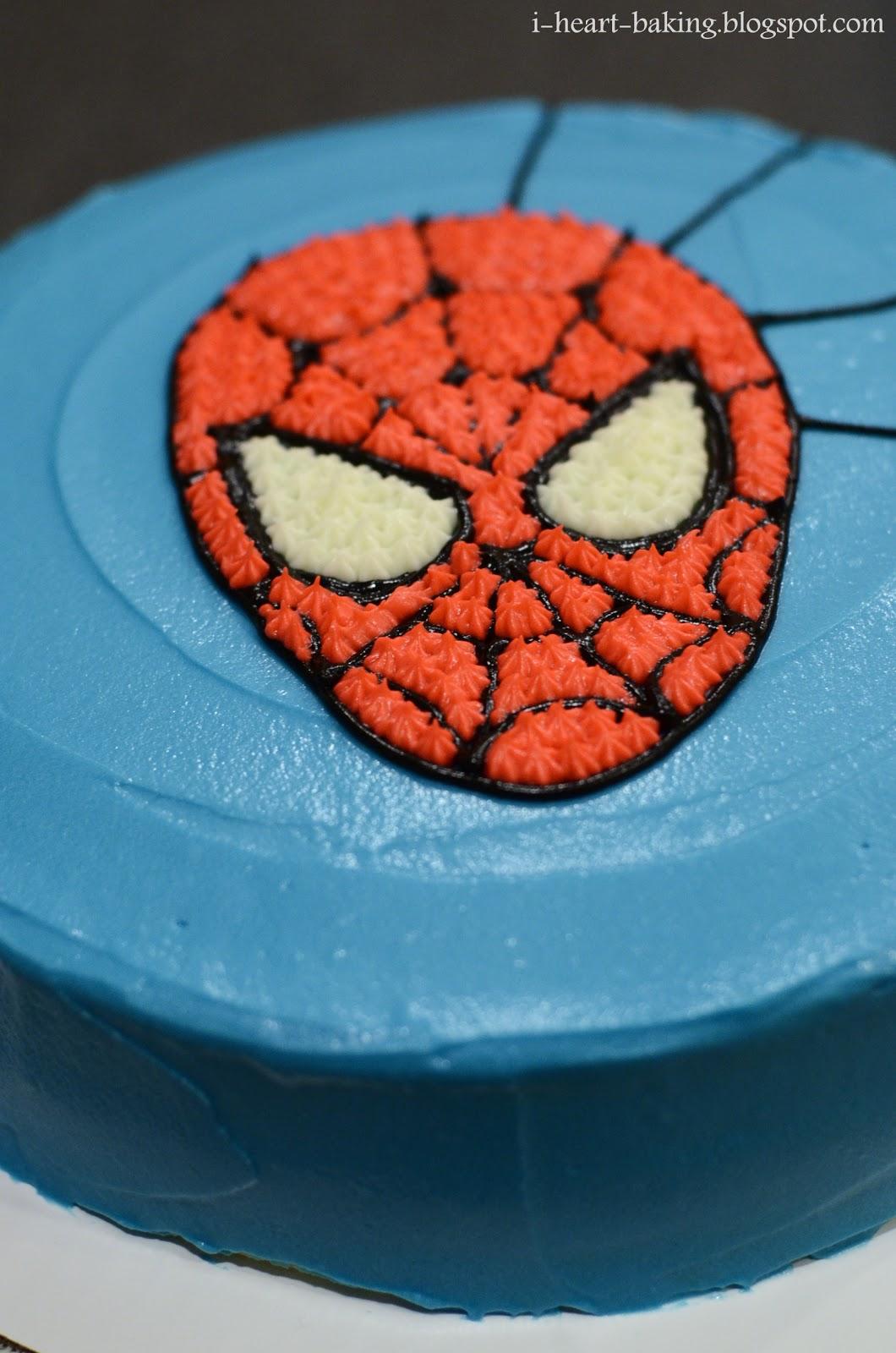 La date d'anniversaire officielle de Tails - Page 2 Cake_spiderman_DSC_6636