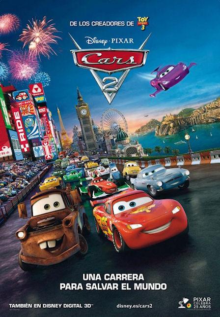 Subimos la apuesta: ¿cuál será la mejor película de este verano? Cars_2_pixar_disney