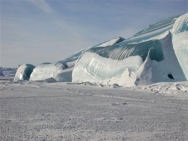 LAKE MICHIGAN ICEBERGS  4