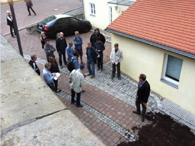 Photos and videos: George Clooney filming in Merseburg Georgeberlin3