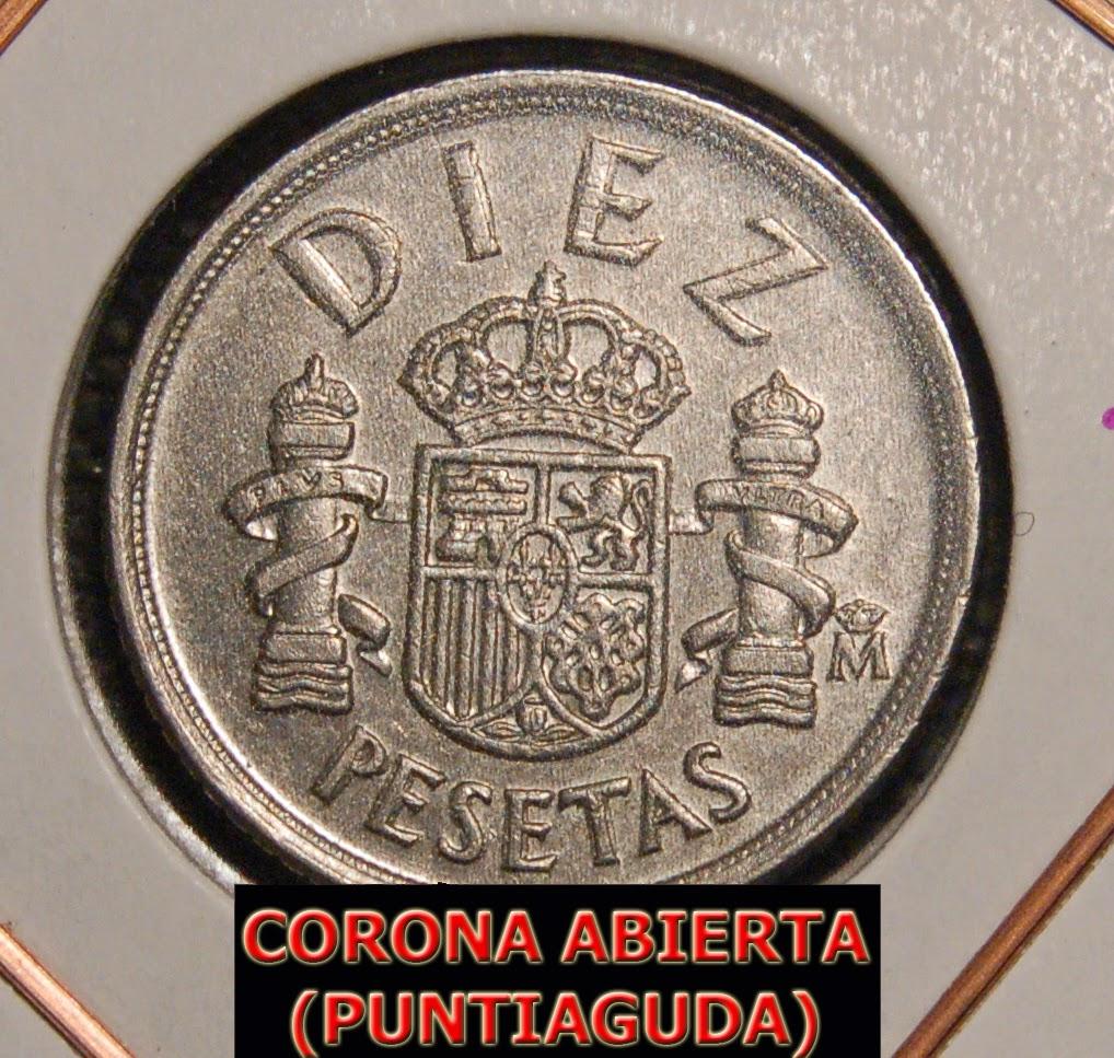 1985 - 10 Pesetas - CECA ABIERTA (RARÍSIMA) 10%2B1985%2Bceca%2Babierta