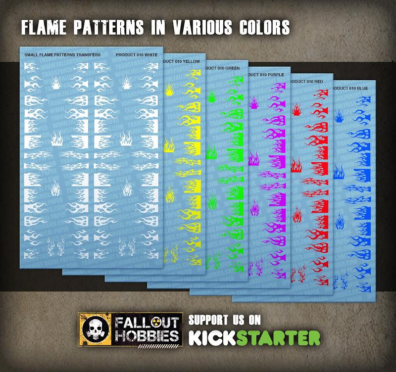 Dark Eldar Tribal Hull Decals From Fallout Hobbies Product%2BShot-Flame%2BPatterns