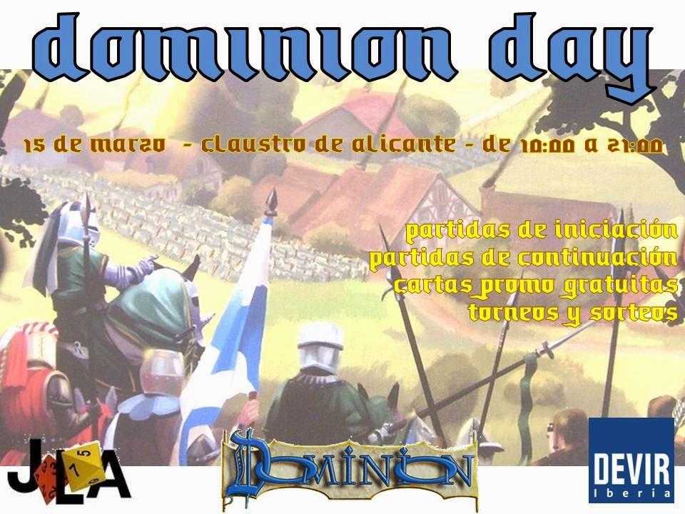 Dominion Day el 15 de Marzo (Alicante) Dominionday