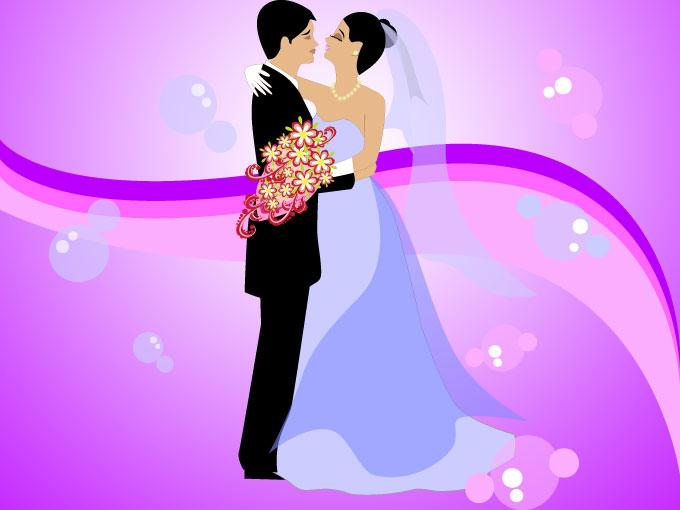 أفرح عائلات عبد ربه Wedding%252Bvector%252Bpurple