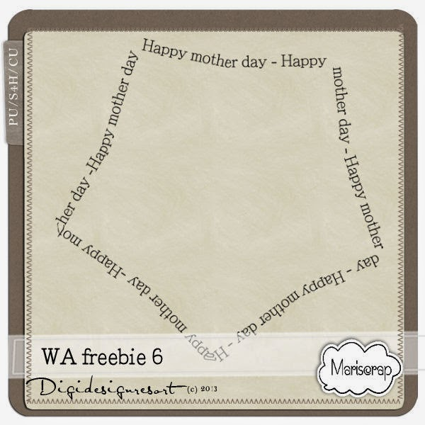 CU Mother's Day Word-Art Freebie Msp_WA6_freebiePV