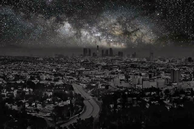 كيف ستبدوا المدن الكبرى لو خيم عليها الظــلآم الدامـس ..؟! Los%2BAngeles1