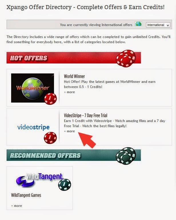 شرح موقع Xpango لربح الاجهزة الالكترونية عن طريق جمع النقاط 8
