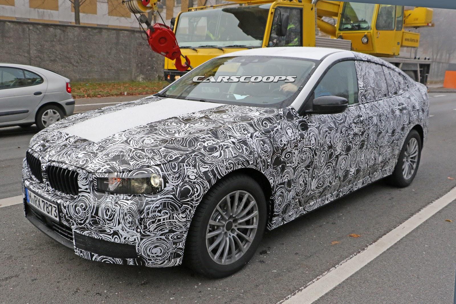 2017 - [BMW] Série 6 GT (G32) - Page 2 2018-BMW-5-Series-GT-2