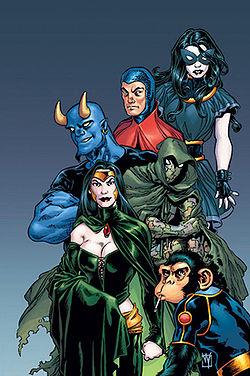 Contexte Comics Shadowpact