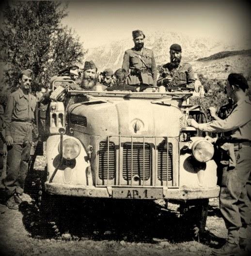 Το γερμανικό Steyr 1500  της  Χ  Μεραρχίας του  ΕΔΕΣ 637936_Zervas_photo_2a-7