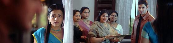 Athadu (2005) Athadu-privitanie