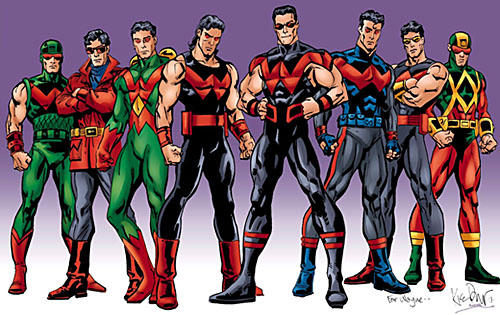 So, Why Did These Costumes Never Catch On? Wonder_Man_costumes