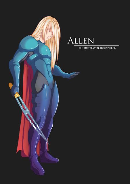 La galerie dessinée de Raven Allen
