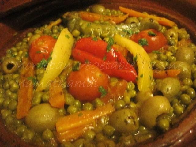 Moroccan Vegetable Tagine / Tajine marocain végétarien Img_5212