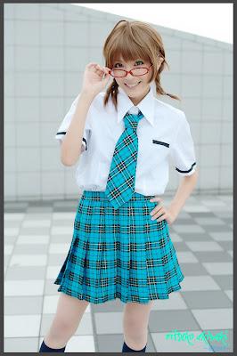 iDOLM@STER Break THE-iDOLM%2540STER-Cosplay-Ritsuko-Akizuki-3-byChamaro