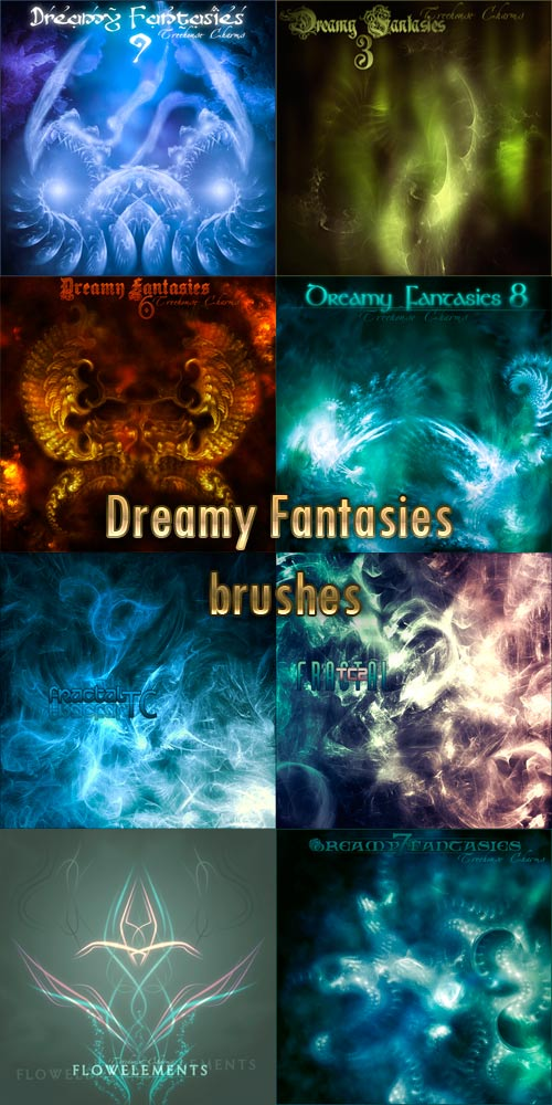 Brushes Dreamy Fantasias 12