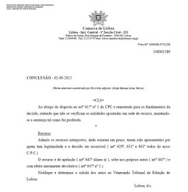 Confirmation Goncalo Amaral appeal accepted Despacho