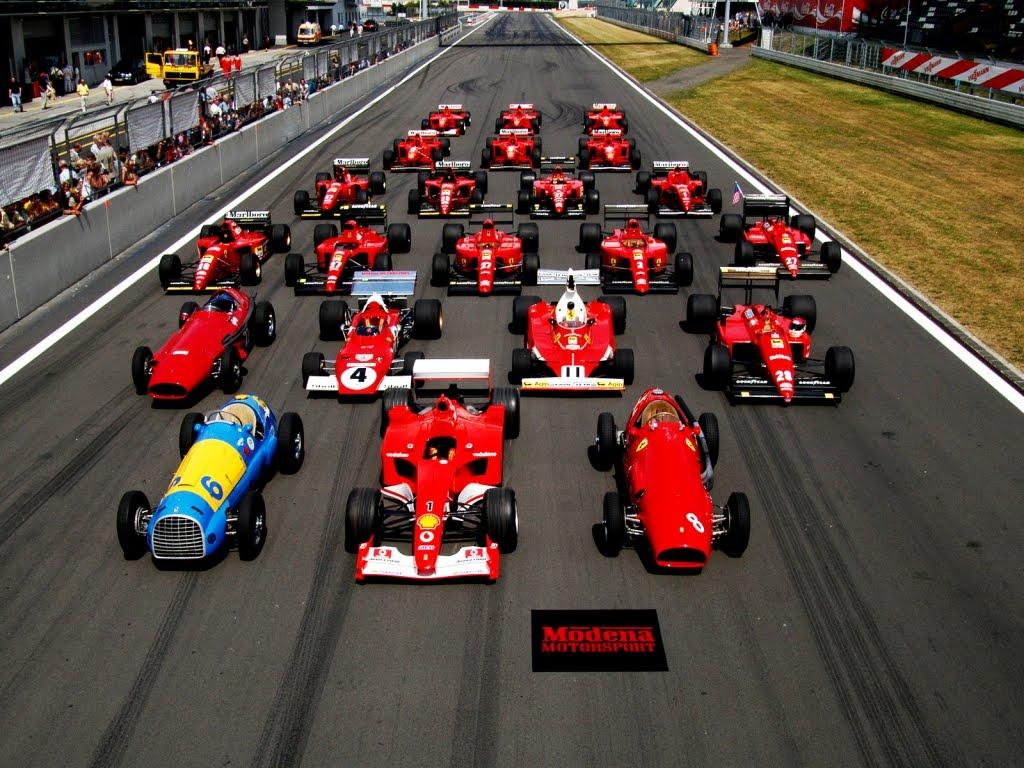 Bolidi formule 1 Pogled-na-sve-Ferrarijeve-bolide-kroz-povijest-natjecanja-u-svjetskom-prvenstvu-Formule-1-download-besplatne-pozadine-za-desktop-1024-x-768-
