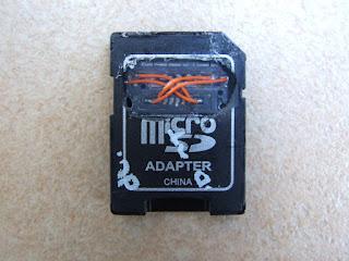 Les premiers retours du Magic MicroSD Adaptor Dscf7112