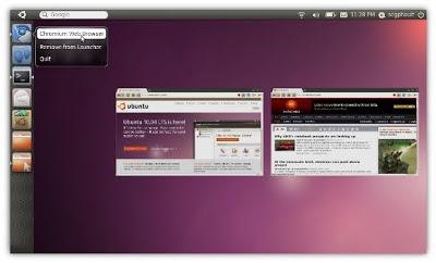 Обзор Ubuntu 11.04 Natty Narwhal Ubuntu_unity