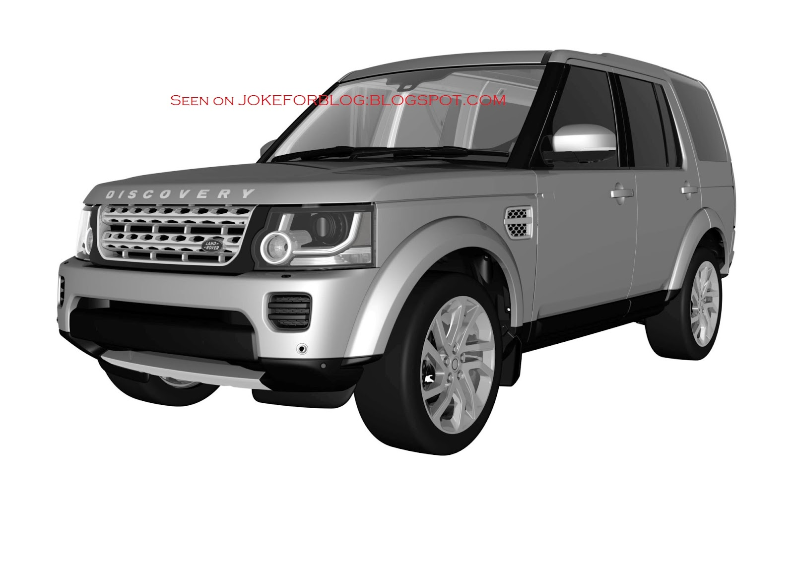 2013 - [Land Rover] Discovery IV (2ème restylage) 1