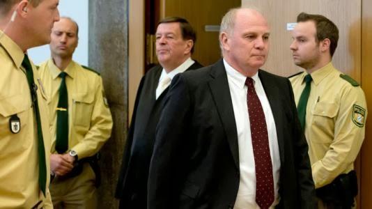 Bayern Munich President sentenced to 3 plus years in prison  A