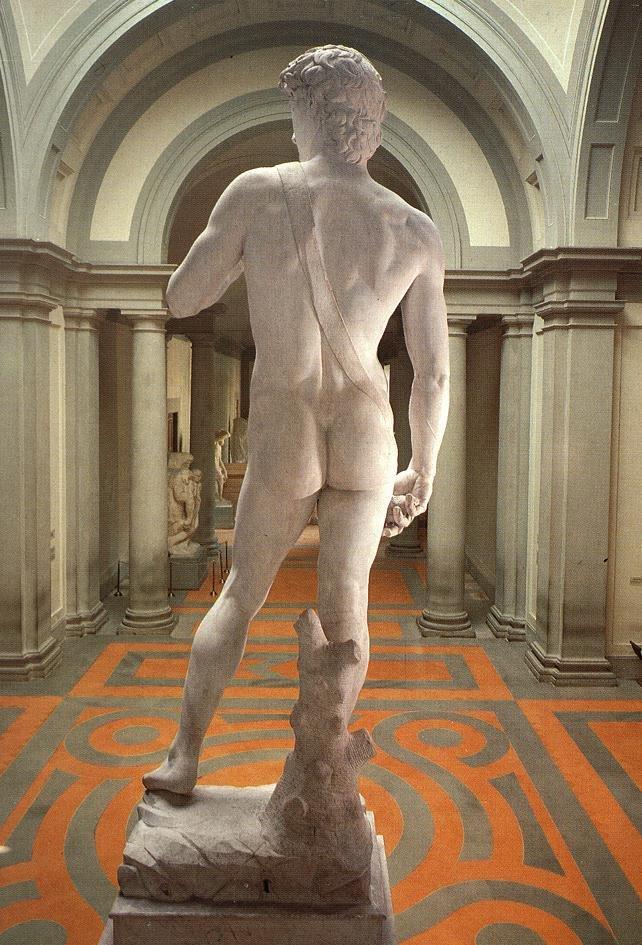 Michelangelo Buonarroti Michelangelo_david_retro