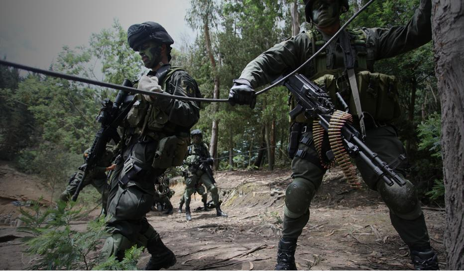 Colombian Armed Forces. COPES