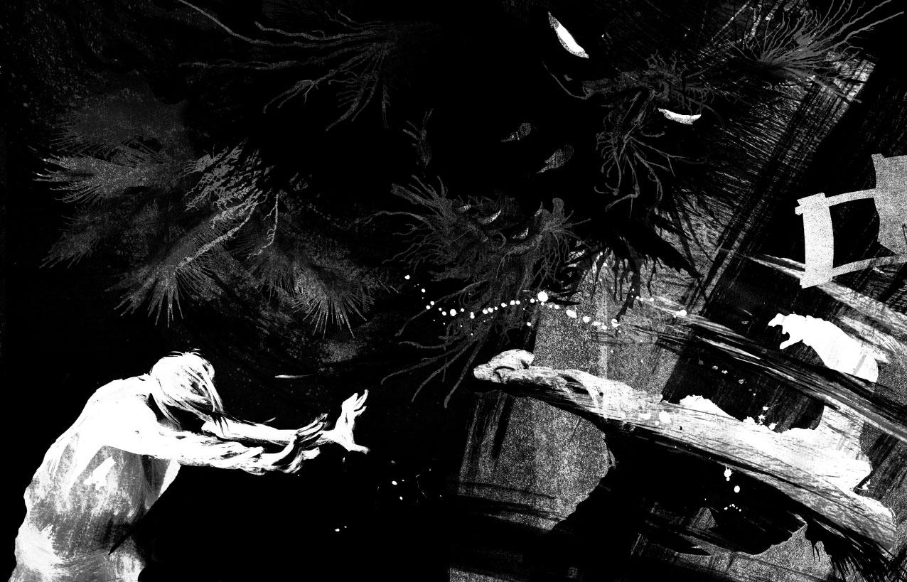 A Monster Calls — Patrick Ness Monstercalls2