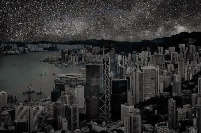 كيف ستبدوا المدن الكبرى لو خيم عليها الظــلآم الدامـس ..؟! Hong%2BKong1