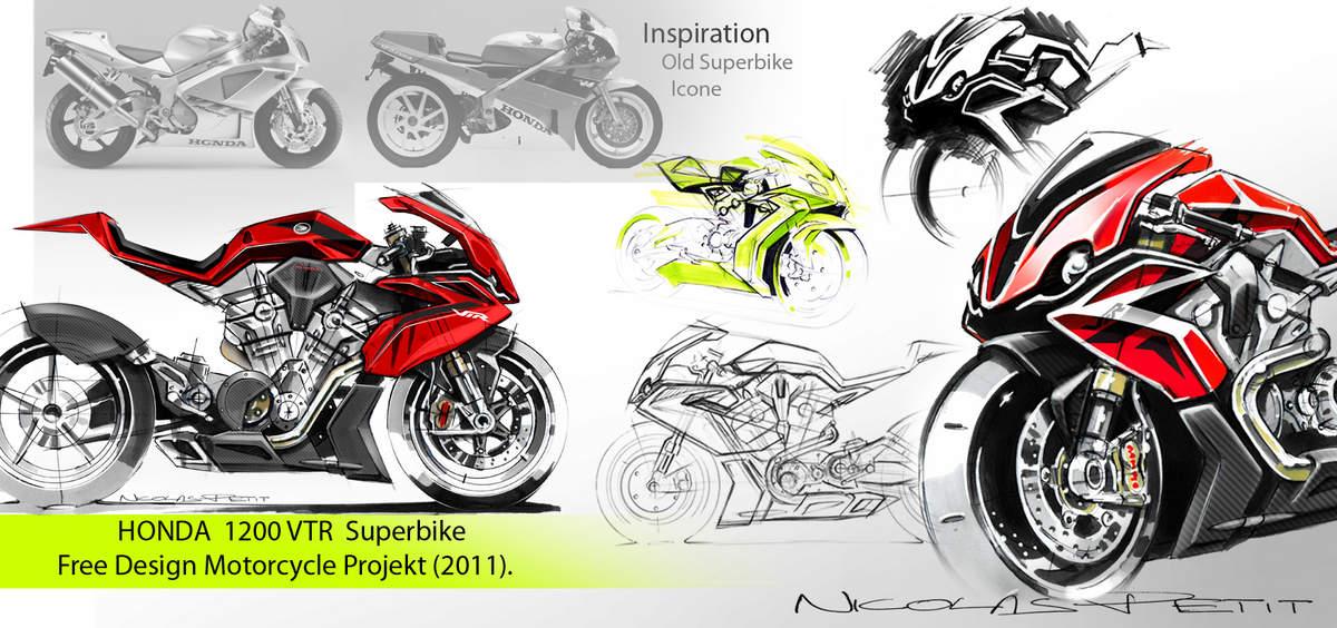 Concept/design/photomontage sur R  - Page 2 Honda%2BVTR%2B1200%2Bby%2BPetit%2BMotorcycle%2BCreation%2B09