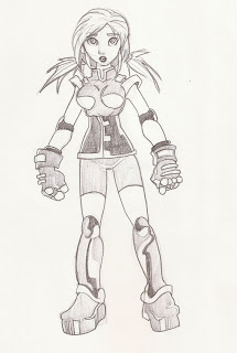 some draws of girls 10
