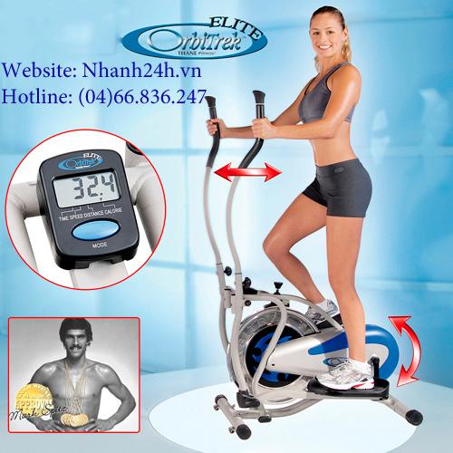 Để có cơ thể săn chắc,khỏe mạnh hãy đến với xe đạp tập obitrek elite 2