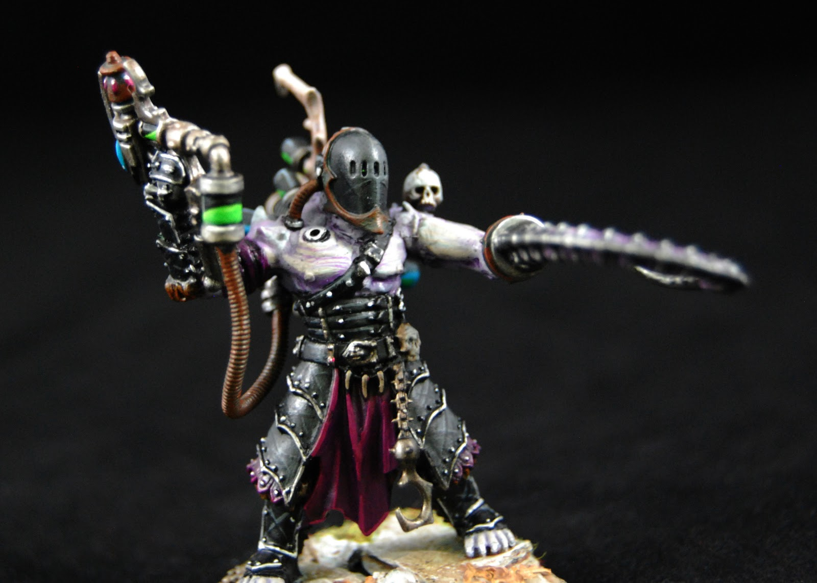 EOE's Dark Eldar Painting Tutorials  DE_Grotesques_Painted_04