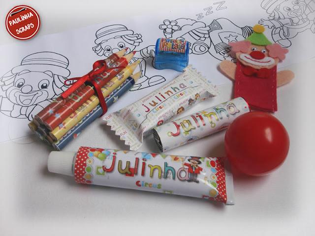 Festa da Julinha - Caixinha surpresa - Circo Surpresas