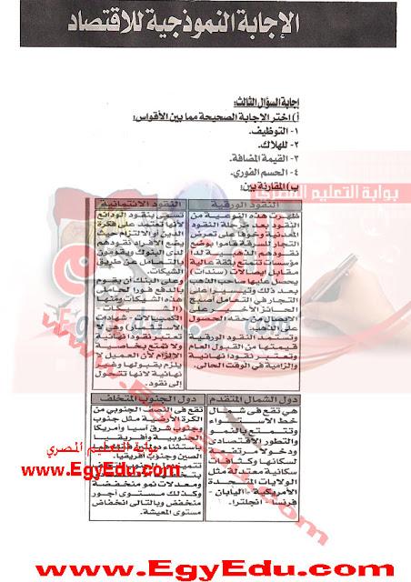 اقتصاد الثانويه العامه من مصراوى22 A2
