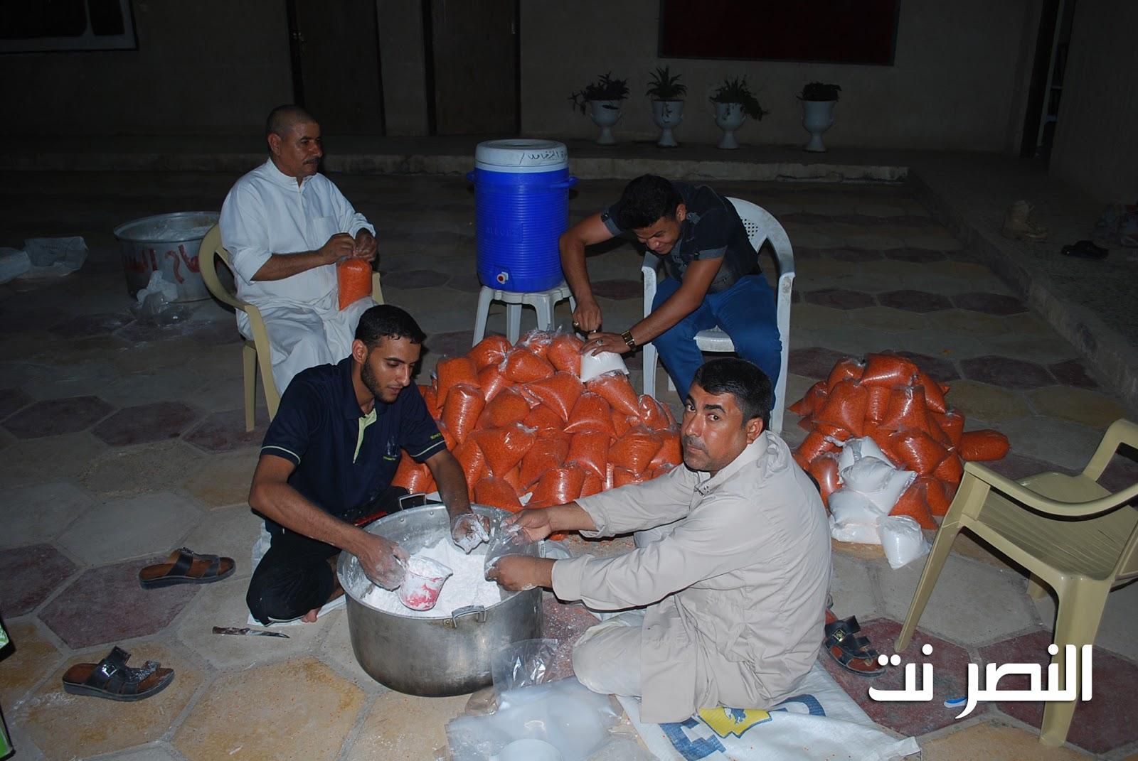 مبرة النصر للأيتام تباشر توزيع سلة رمضان بالتعاون مع الجمعيات الخيرية  DSC_0014